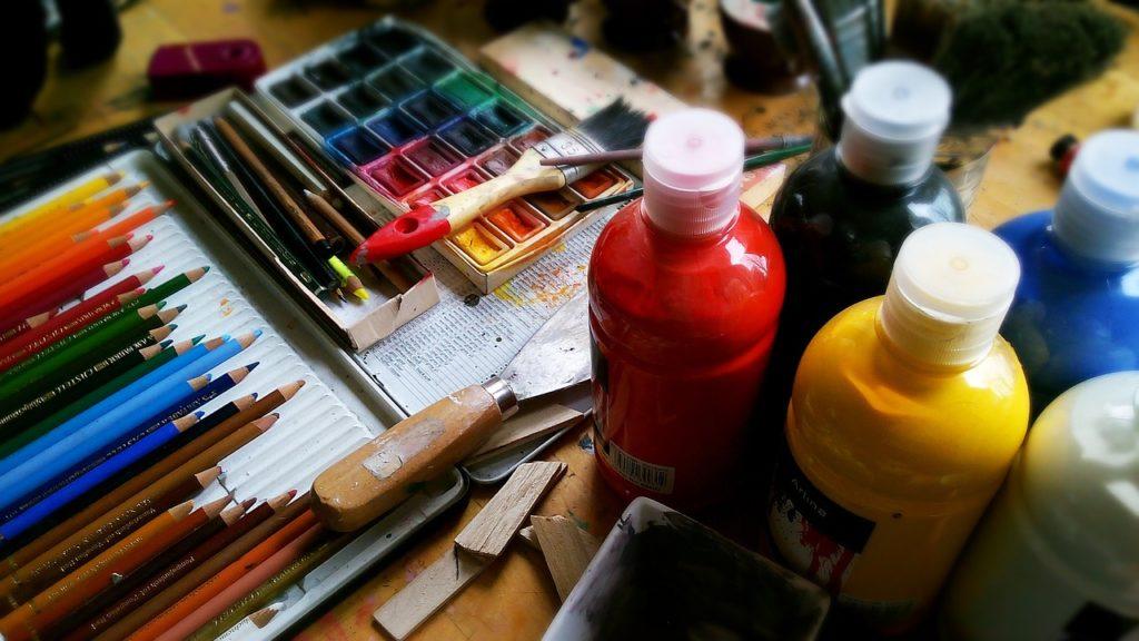 jak malować akrylami